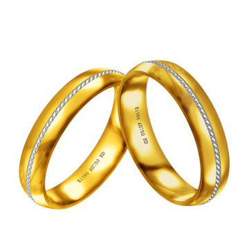 18K金戒指