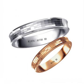 18K金戒指-千面魅影