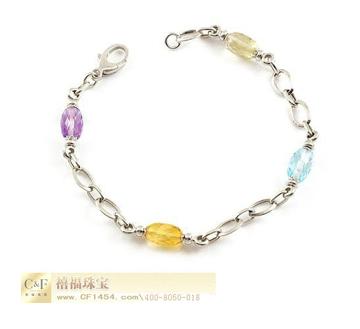 C&F时尚彩宝手链
