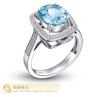 C&F时尚彩宝戒指