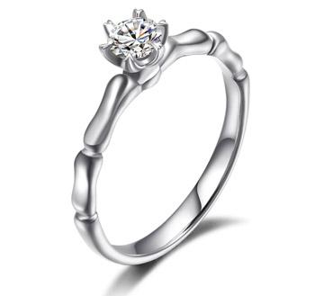 鹊踏枝——24分18k白金钻石结