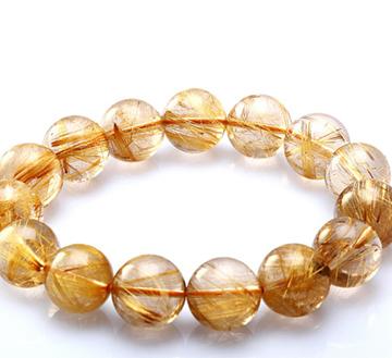 铂晶尔曼--金发晶手链