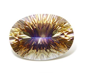 镀色水晶-彩黄