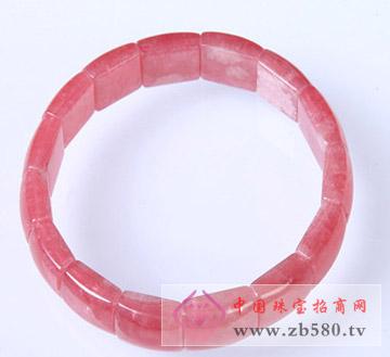红纹石手链