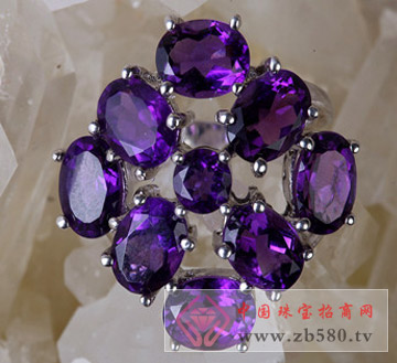 紫水晶戒指