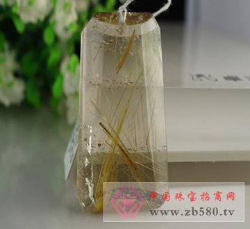 水晶(金发晶)吊坠
