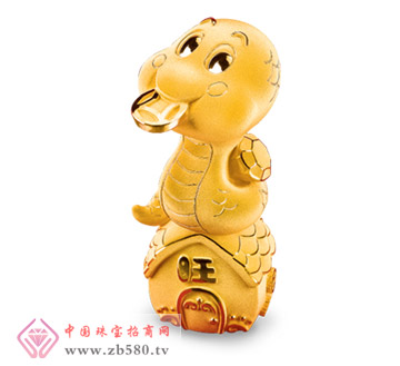六福珠宝--财旺蛇