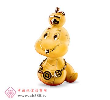 六福珠宝--平安蛇