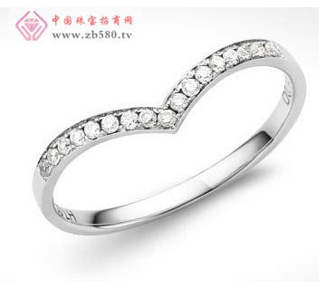 指间的真爱 13分18K金钻石戒指