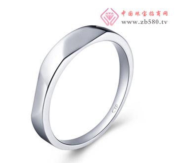 波纹光身银925戒指