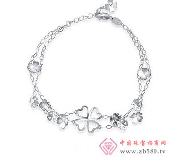 Pt950铂金手链