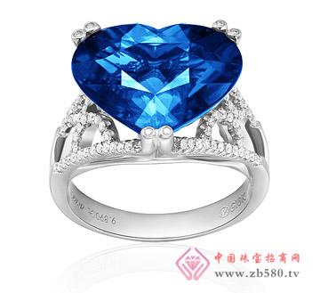 泰源珠宝--心形蓝宝石