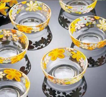 豪华玻璃碗