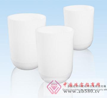 多晶硅原料提纯用石英陶瓷坩埚