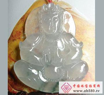 鑫玉泰珠宝--翡翠观音