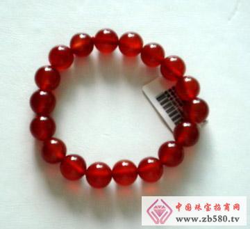 鑫玉泰珠宝--红玛瑙手链
