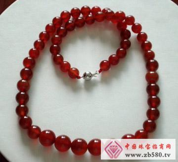 鑫玉泰珠宝--红玛瑙项链