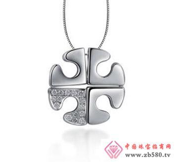 太福珠宝--18K钻石吊坠01
