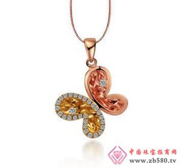 太福珠宝--18K钻石吊坠02