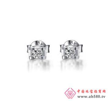 太福珠宝--钻石耳钉02