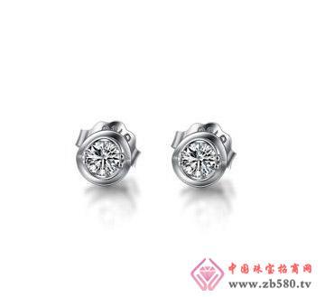 太福珠宝--钻石耳钉03