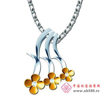 金大东珠宝--钻石项坠