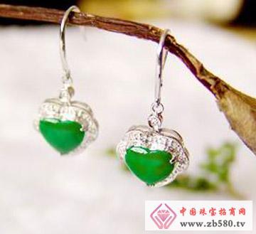 金大东珠宝--翡翠耳环