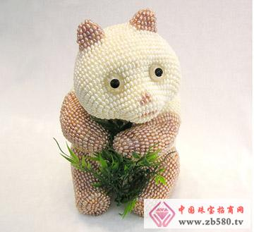 圣塔珠宝--珍珠熊猫