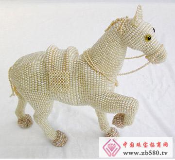 圣塔珠宝--十二生肖吉祥(马)