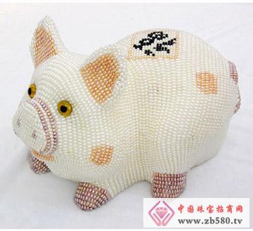 圣塔珠宝--十二生肖吉祥(猪)