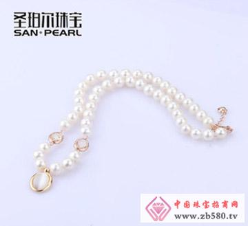 诸暨山下湖珍珠项链-8.5-9.5mm