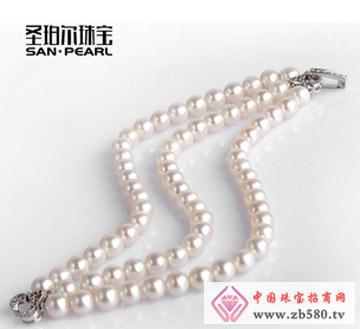 天然淡水珍珠手链6-7mm