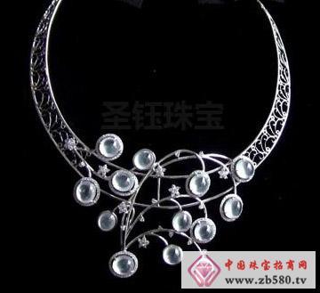 圣钰珠宝--意大利设计玻璃种项链