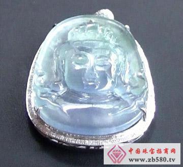 圣钰珠宝--玻璃种观音