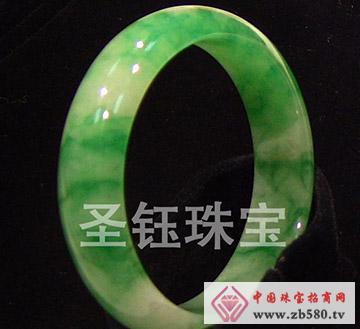 圣钰珠宝--翡翠手镯