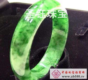 圣钰珠宝--翡翠手镯3