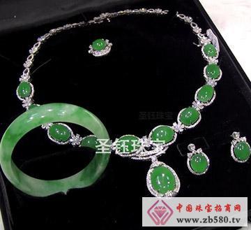 圣钰珠宝--翡翠套件