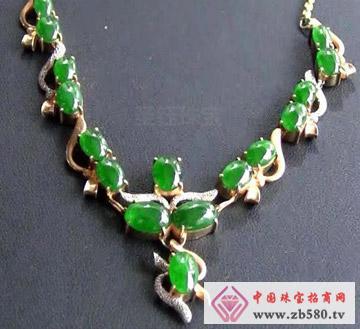 圣钰珠宝--翡翠项链