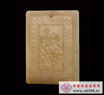 圣钰珠宝--乾隆和田玉(大腰牌)