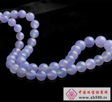 翠龙轩珠宝--极品紫翡翠项链