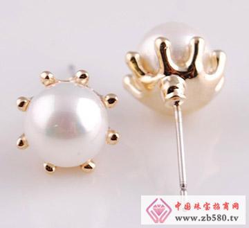 聚华珠宝--耳钉01