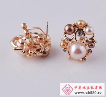 聚华珠宝--耳钉02