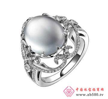 冰种翡翠戒指