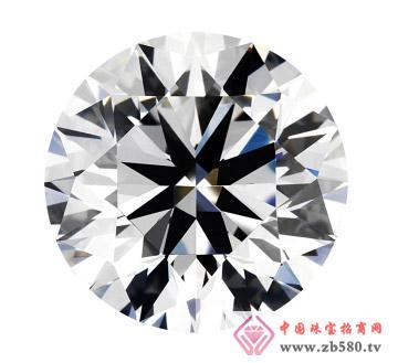 2克拉F色VS2级GIA圆形裸钻