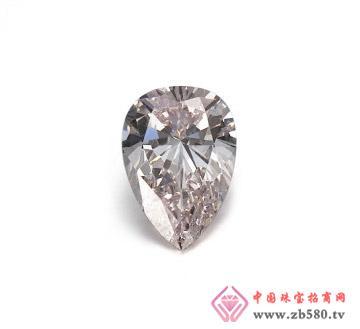 淡粉红色1.51克拉GIA裸钻