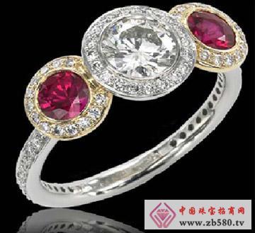 戴安娜珠宝--宫廷奢华戒指