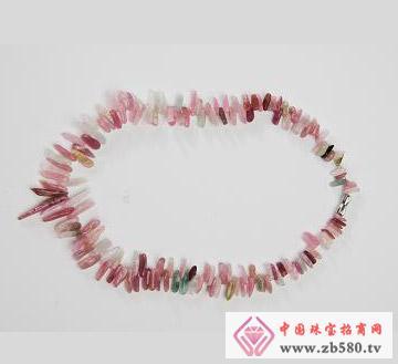 蓓蕾珠宝--碧玺项链