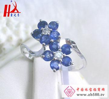 925银天然优质泰国蓝宝石戒指