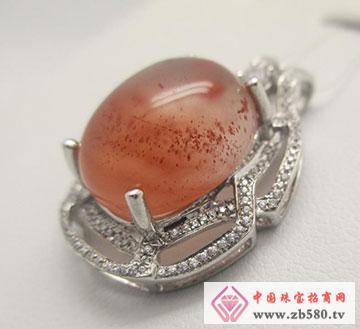 恒利洋珠宝天然水晶玛瑙籽料
