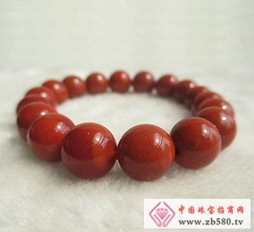 绝色南红玛瑙籽料柿子红纯天然原色